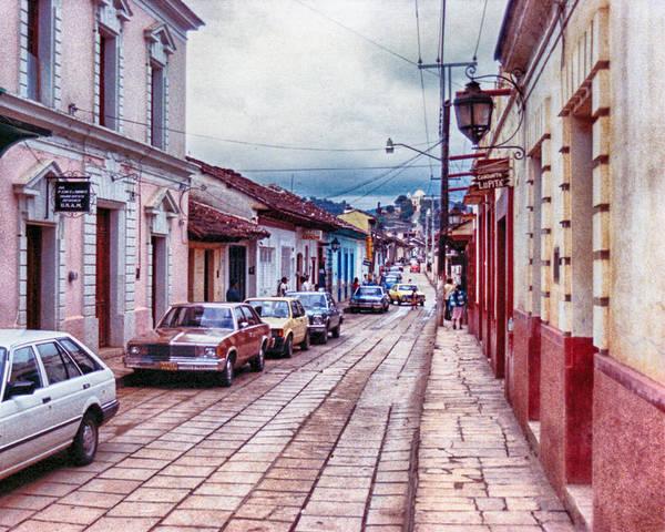 Street In Las Casas Poster