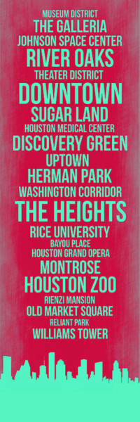 Streets Of Houston 2 Poster