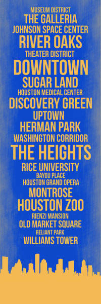 Streets Of Houston 3 Poster