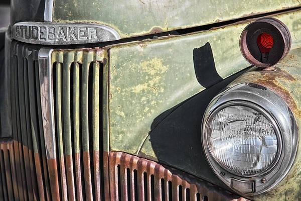 Poster featuring the photograph Studebaker Truck by Gigi Ebert