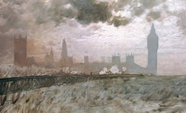 Study Of Westminster Bridge Poster