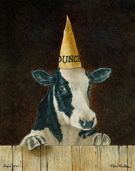 Stupid Cow... Poster