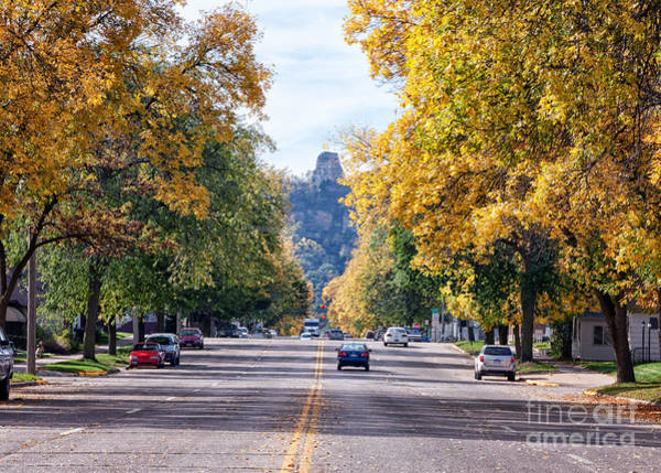 Poster featuring the photograph Sugarloaf Souvenir - Mankato Avenue by Kari Yearous