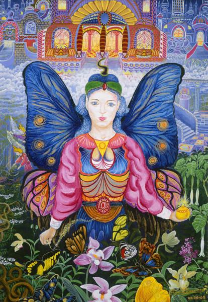 Poster featuring the painting Sumak Nusta by Pablo Amaringo