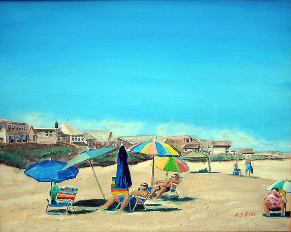 Summer At Salisbury Beach Poster