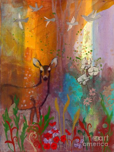Sun Deer Poster