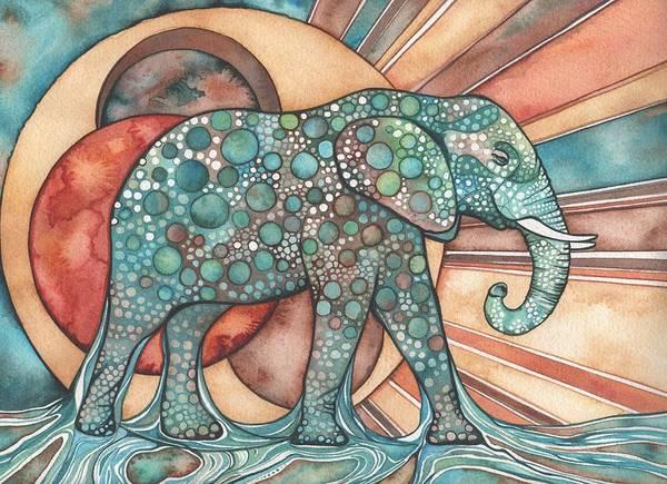 Sunphant Sun Elephant Poster
