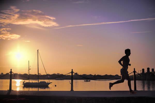 Sunrise Bayfront Runner Poster