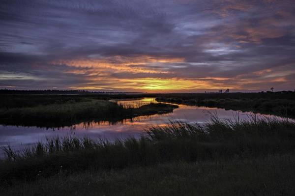 Sunrise On Lake Shelby Poster