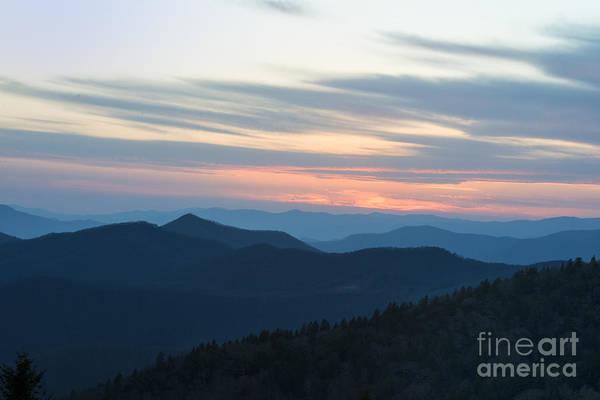 Sunrise On The Blue Ridge Poster