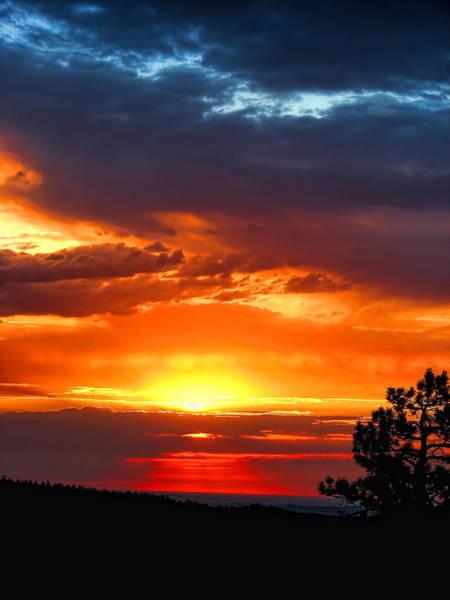 Sunrise Over Keystone Poster