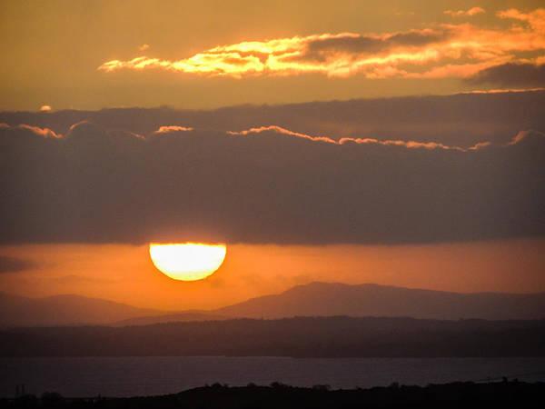 Sunrise Over River Shannon Poster