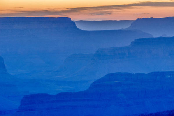 Sunset At South Rim Poster