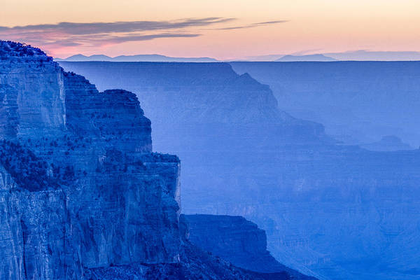 Sunset At The South Rim Poster