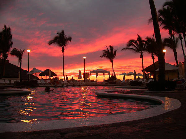 Poster featuring the photograph Sunset In Paradise by Shane Bechler