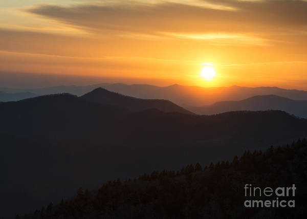 Sunset On The Parkway Poster