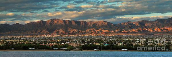 Sunset Over Havasu Poster