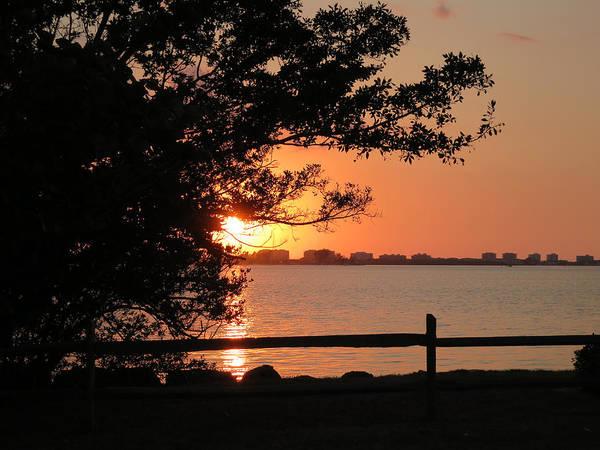 Sunset On Sarasota Harbor Poster