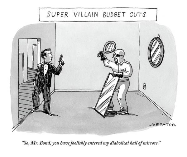 Super Villain Budget Cuts Poster
