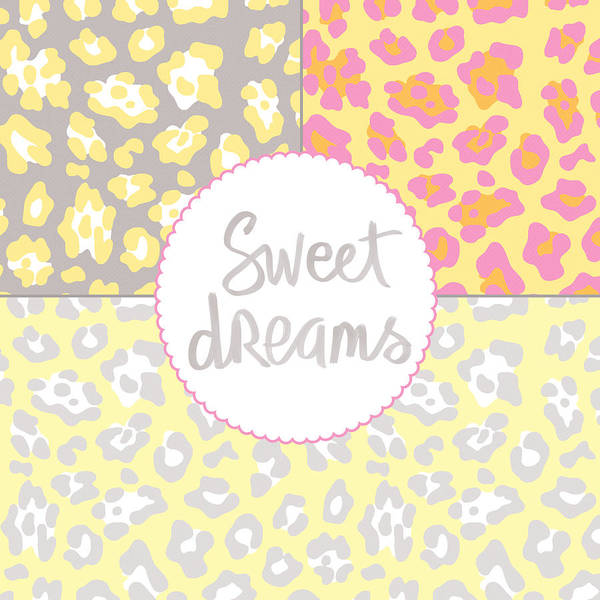 Sweet Dreams - Animal Print Poster