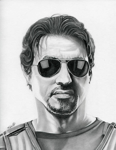 Sylvester Stallone - The Expendables Poster