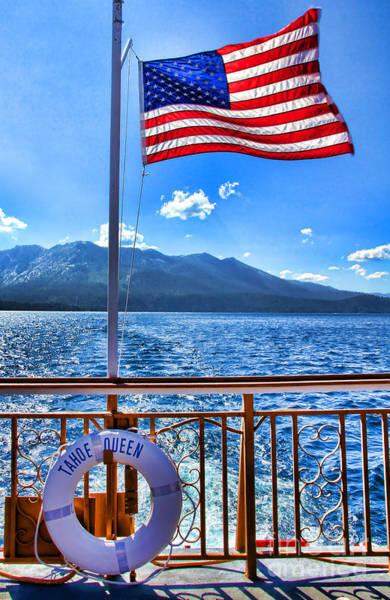 Tahoe Queen Lake Tahoe By Diana Sainz Poster