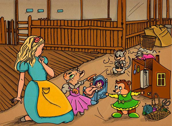 Tammy's Backyard Poster