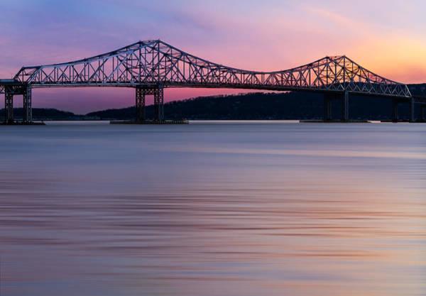 Tappan Zee Bridge Sunset Poster