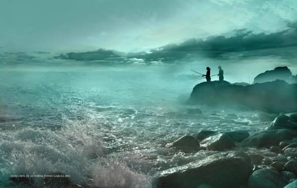 Tarde De Pesca Poster