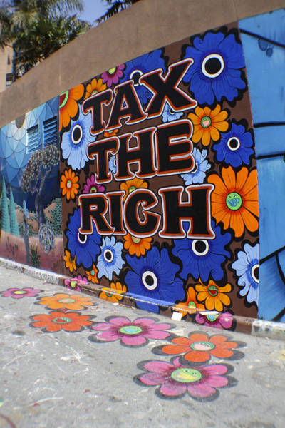Tax The Rich Poster