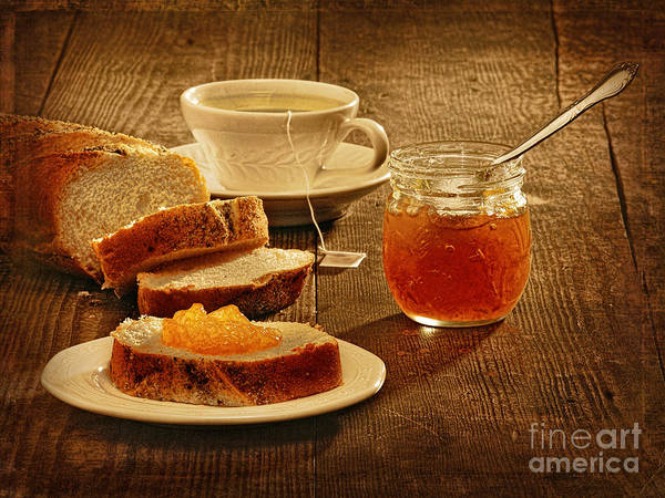 Tea And Bread Poster