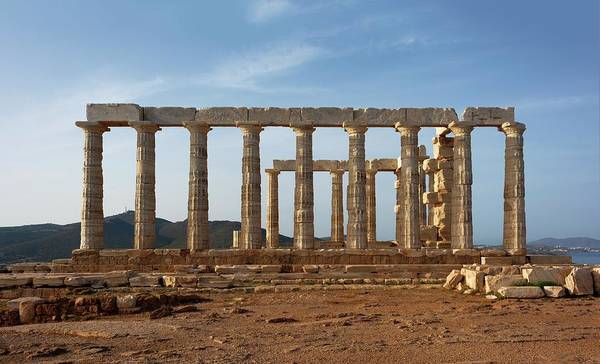 Temple Of Poseidon Poster