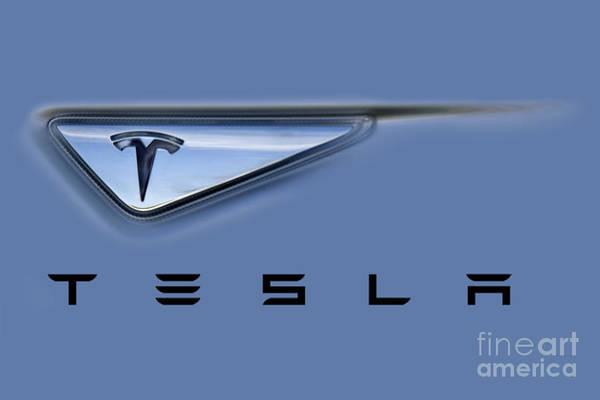 Tesla Artwork Poster