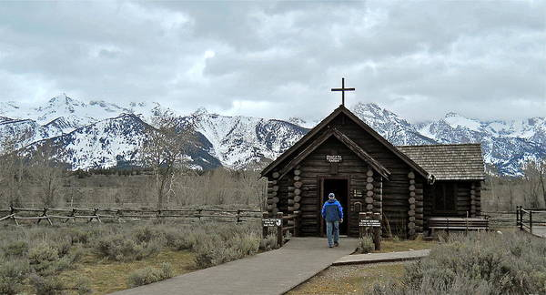 Tetons Chapel Of The Transfiguration Poster