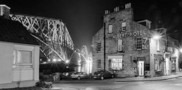 Poster featuring the photograph The Albert Hotel by Ross G Strachan