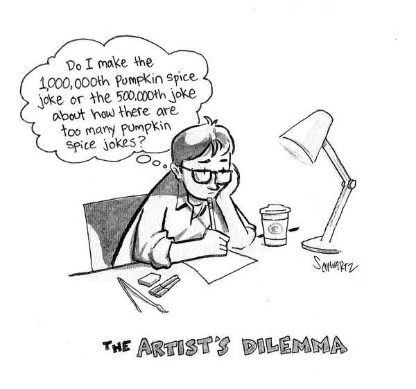 The Artist's Dilemma Poster