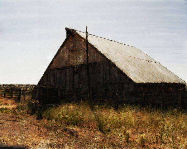 The Barn Poster