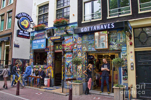 The Bulldog Coffee Shop - Amsterdam Poster