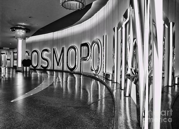 The Cosmopolitan Hotel Las Vegas By Diana Sainz Poster