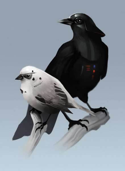 The Dark Side Of The Flock Poster