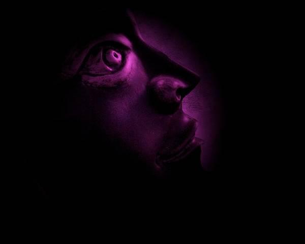 The Darkest Hour - Magenta Poster