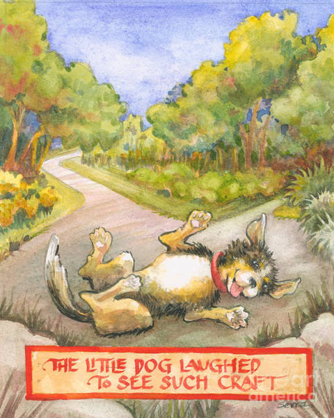 The Little Dog Laughed Poster