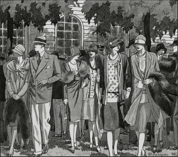 The Meadow Brook Club After A Polo Match Poster