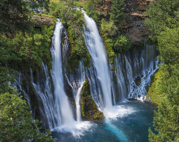 The Most Beautiful Waterfall Poster
