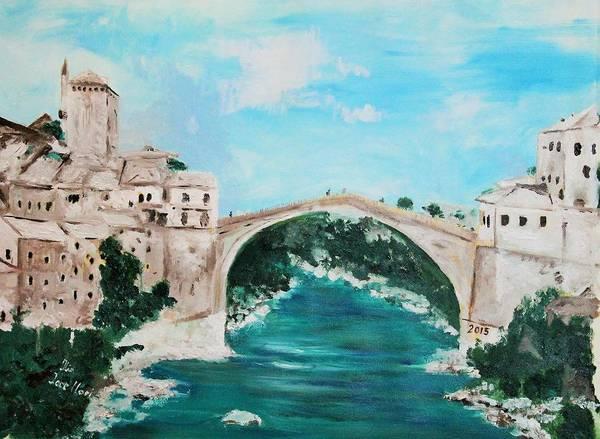 The Mostar Bridge Poster