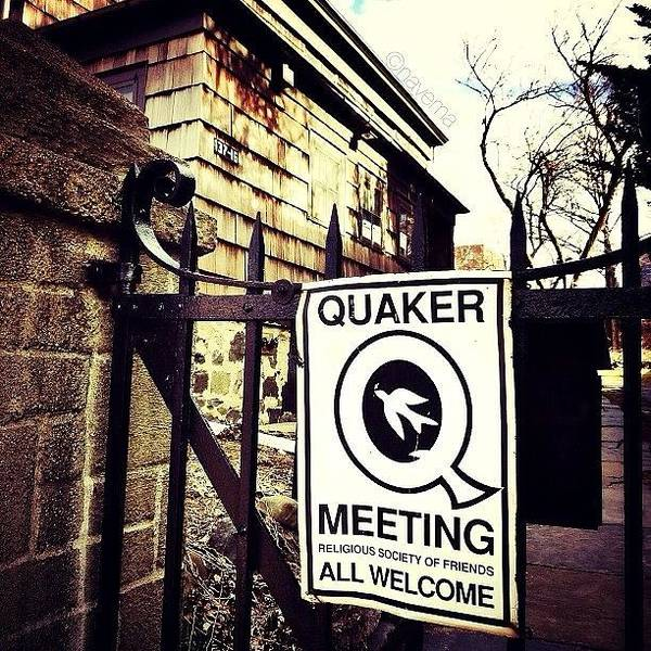 The Old Quaker Meeting House: Built In Poster
