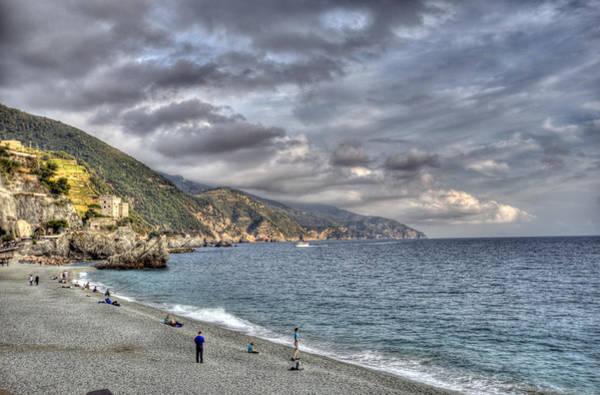 The Small Beach At Monterosso Al Mare Poster