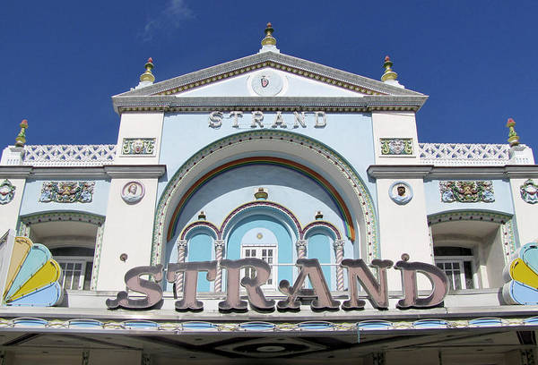 The Strand Key West Poster