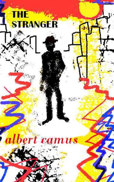 The Stranger Albert Camus Poster Poster