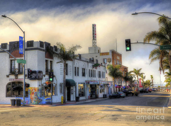 The Streets Of Pismo Beach Poster